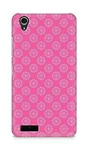 Amez designer printed 3d premium high quality back case cover for Lenovo A3900 (Flower Pattern2)