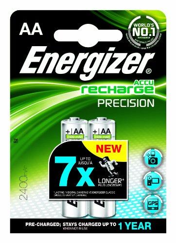 batterie Energizer NiMH ENRAA2400P2 AA / LR6 (2400mAh, R2U presision, 2er-Blister)