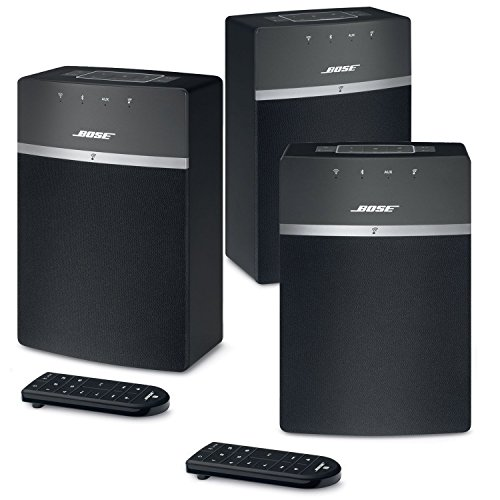 Bose SoundTouch 10 Wireless Music System Bundle 3-Pack - Black