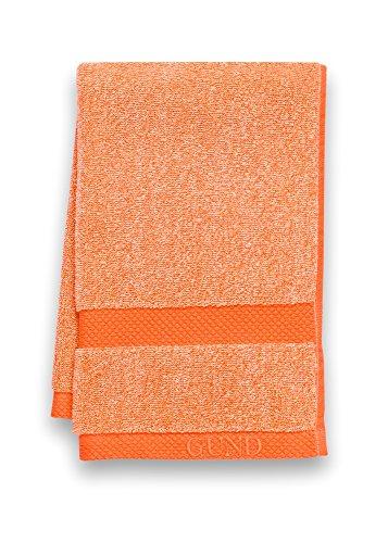 GUND Melange Hand Towel, Tangerine, 16'' By 26'' - 1