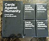 Cards Against Humanity Complete Bundle Set: Base Set Plus 1st 2nd 3rd 4th Expansion Packs New FREE Shipping