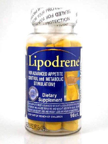 Hi-Tech Pharmaceuticals Lipodrene Original Dietary Supplement, 90-count Bottle