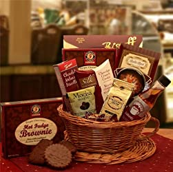 For Coffee Lover's Only | Gourmet Chocolates and Coffee Gift Basket