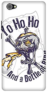 The Racoon Lean Pirate Santa hard plastic printed back case/cover for Vivo X5 Pro