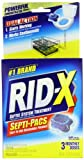 RID-X - Septic System Treatment 3-Dose Dual Action Septi-Pacs 3.2 Ounce