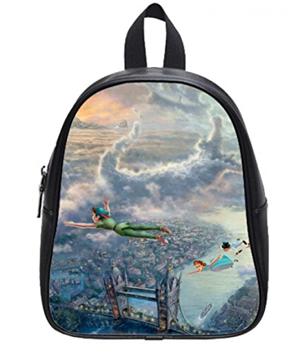 2015 Fashion Outdoor Backpack For Kids Diy Peter Pan Never Grow Up Children'S School Bags For Girls And Boys (Peter Pan Backpack compare prices)