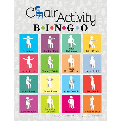 Learning ZoneXpress Chair Activity Bingo