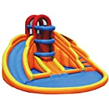 Banzai drinking water Slide:Big azure Lagoon Inflatable drinking water Park
