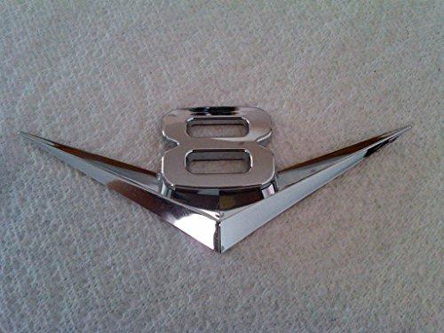 V6 / V8 Chrome Emblem Badge Trim (V8) (2013 Impala Emblem compare prices)