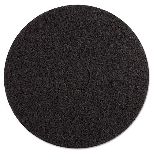 premiere-pads-pad-4017-bla-standard-stripping-floor-pad-17-diameter-black-case-of-5