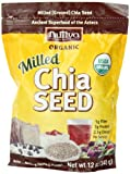 Nutiva Organic Chia Seeds, Milled, 12-Ounce