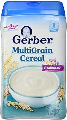 Gerber 1st Foods Baby Cereal - Multigrain - 16 oz - 1