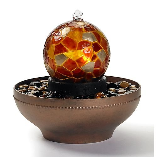 Homedics WFL-ART Artesian Globe Tabletop Fountain