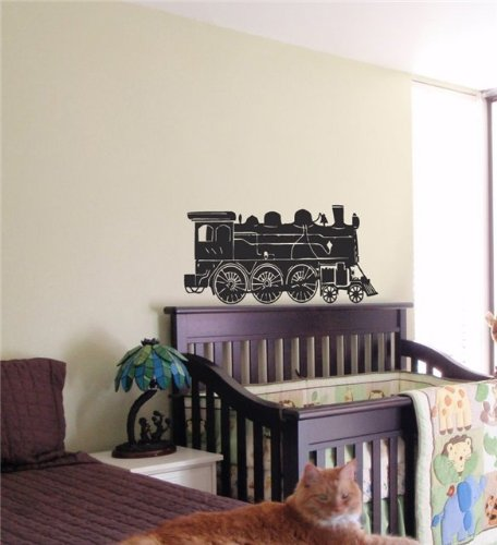 Train Boy Kids Wall Art Sticker Baby Room Nursery 12
