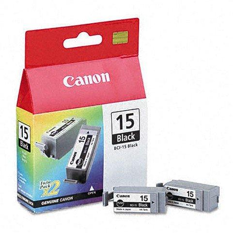 2x Druckerpatronen von Canon für Pixma IP 90 V (Black Patrone) Pixma IP90V, IP 90V Tintenpatronen, 80 Seit.