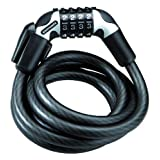 Kryptonite Kryptoflex 1218 Combo Cable Bicycle Lock (1/2-Inch x 6-Foot) ~ Kryptonite