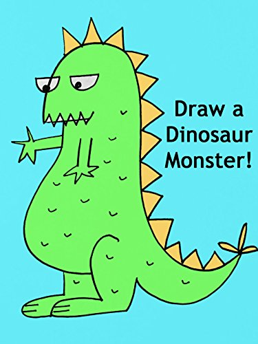 Draw a Dinosaur Monster
