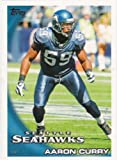 2010 Topps NFL Football Card #282 Aaron Curry - Seattle Seahawks - NFL Trading Card at Amazon.com