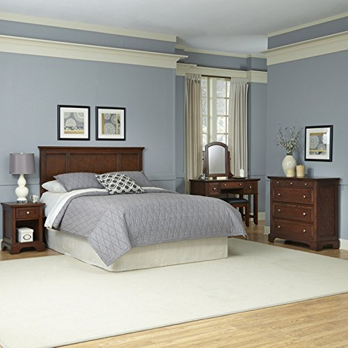 Home Styles Furniture 5529-6020 Chesapeake Headboard/Night Stand/Chest/Vanity/Bench, King/California King