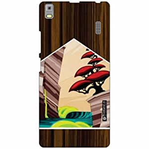 Lenovo K3 Note - PA1F0001IN Back Cover - Silicon Wood Designer Cases
