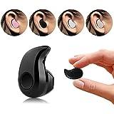 VIIVRIA® 2015 Mini Oreillette Bluetooth Stéréo micro intégré sans fil In-Ear Ecouteur Casque(Noir)