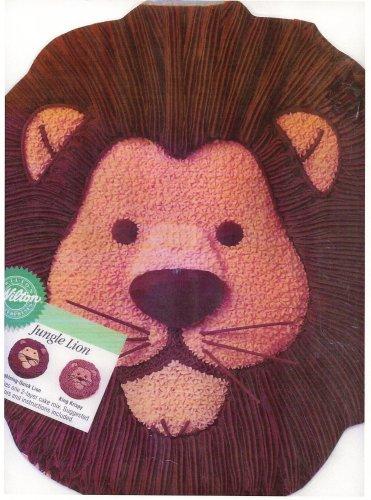 Wilton Cake Pan: Jungle Lion (2105-2095, 1994)