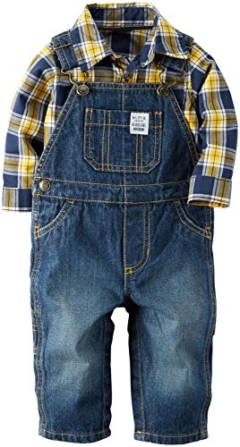 Carter's Baby Boys 2 Pc Sets, Denim, 18 Months