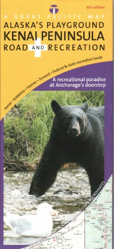 Alaska's Kenai Peninsula Road & Recreation Map, 6th Edition