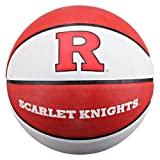 NCAA Rutgers Scarlet Knights Collegiate Deluxe Official Size Rubber Basketball, 29.5-Inch/Rutgers Scarlet Knights