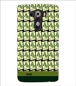 PrintDhaba Zebra pattern D-1810 Back Case Cover for LG G3 (Multi-Coloured)