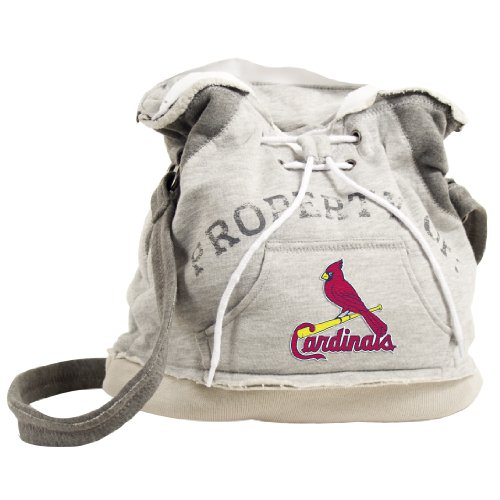MLB St. Louis Cardinals Hoodie Duffel (Grey) at Amazon.com