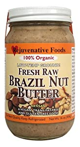 Raw Organic Brazil Nut Butter - 64 oz