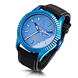 Alessandro Baldieri Men's Limited Edition Watch Retrospec Blue Petrol AB0051-BLU