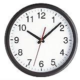 TFA 98.1077 - Reloj de pared electr�nico, 300 mm, color negro