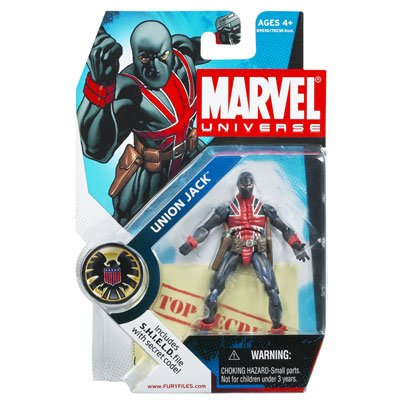 Marvel Universe Series 4 Union Jack Action Figure from Hasbro Inc