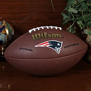NFL Wilson New England Patriots 12'' Official Composite Football