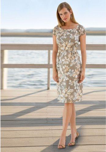 BOSTON DESIGN STUDIO Floral Print Dress