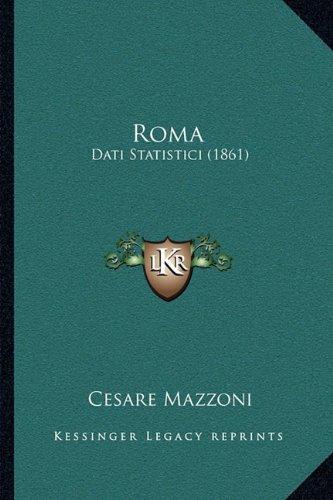 Roma: Dati Statistici (1861)