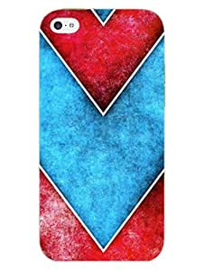 iPhone 5 5S Cover - Chevron Arrows - Very Trendy - Designer Printed Hard Shell Case