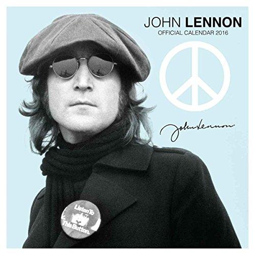 John Lennon Official 2016 Calendar