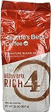 Seattle39s Best Level 4 Medium Dark amp Rich Ground Coffee 32-Ounce Bag