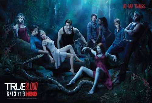 True Blood HBO TV POSTER 11x17 SEASON 3 2010 CAST