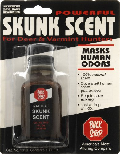 Read About Buck Stop Natural Skunk Deer Scent