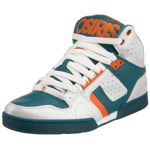 Osiris Men's Bronx Boot White/Green/Orange 11301093 8 UK