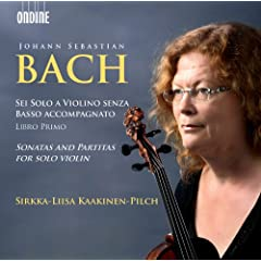 Bach: Sonatas and Partitas for Solo Violin
