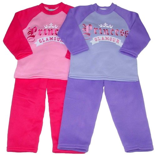 "Buy Girls' ""Princess"" Fleece Outfit with Applique"