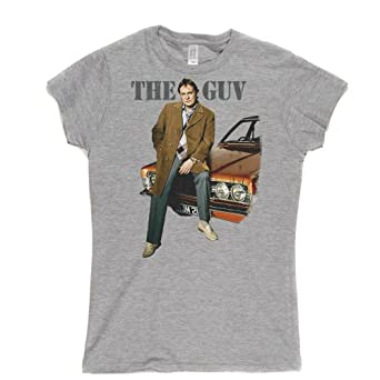 The Guv Womens Fitted T-shirt (sportsgrey/colour small)