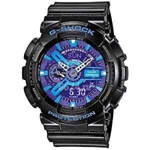 G-SHOCK The GA 110 Hypercolor Watch in Black,Watches for Unisex from G-Shock