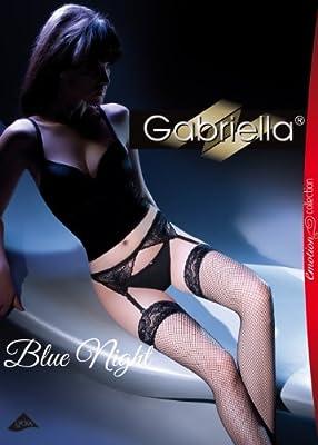 Gabriella - Exklusives Damen Set - Kabarett Strümpfe mit Gürt