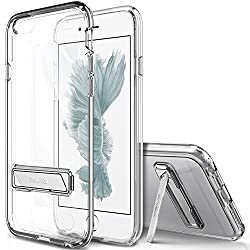 iPhone 6S Plus Case, OBLIQ [Naked Shield][Clear][Metal Kickstand] Thin Slim Fit Crystal Clear Case + TPU Bumper Armor Scratch Resist Protection for Apple iPhone 6S Plus (2015) & iPhone 6 Plus (2014)